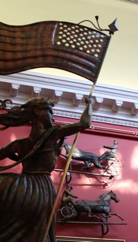Lady Liberty with Historic Weathervane collection
